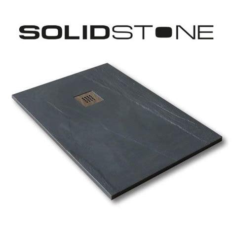 piatto doccia nero piatto doccia in pietra solidstone alto 2 8 cm ardesia