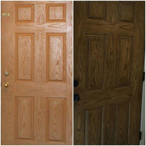 antique walnut gel stained card fiberglass door in antique walnut gel stain general finishes design center