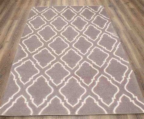 Grey And White Area Rugs White Area Rug 8x10 Handmade Malibu White Shag Rug 8 X 10 Area Rug Large Modern Contemporary