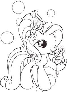 my little pony birthday coloring page my little pony on pinterest my little pony coloring
