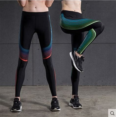 colorful running tights sports tights fitness running