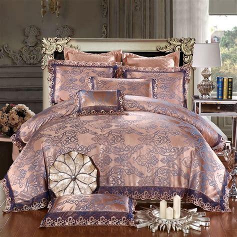 Bridal Bed Sets Modal Jacquard 2016 Wedding Bedding Sets Printing King Size 4pcs Including Duvet Cover Bed