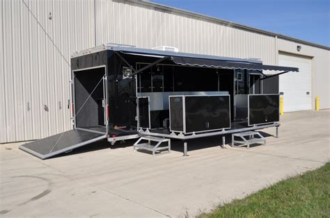 mobile stage mobile stage mobile staging custom mobile stage trailers