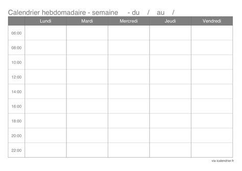 Calendrier Semaine 46 Agenda Hebdomadaire 2016 A Imprimer Calendar Template 2016