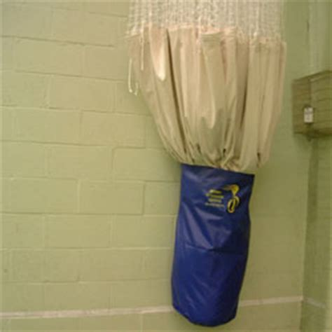 curtain storage bags dividing curtains for sports halls and school gyms