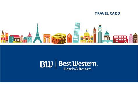 best western card un idea regalo per viaggiatori bw travelcard best western