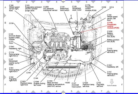 engi layout a strategy focus engine parts diagram wiring wiring diagram for