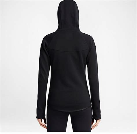 Plain Zip Detail Zip Jacket plain black zip thumb holes hoodie zip hoodie