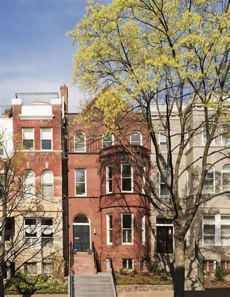 Row Of Houses - renovation of a 1890 s washington dc rowhouse muse architects