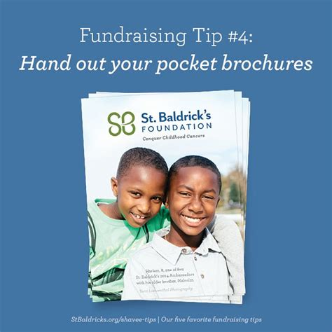 Are You Buddies With Your Barista by Out St Baldrick S Pocket Brochures To Friends