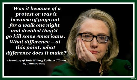 What Difference Does It Make Meme - families of benghazi fallen sue hillary clinton sofrep