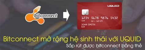 bitconnect uquid uquid coin l 224 g 236 bitconnect giới thiệu dự 193 n ico uquid v 224
