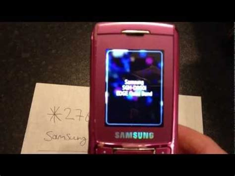 reset samsung old phone samsung convoy 3 video clips