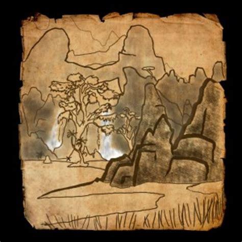 stonefalls ce treasure map eso stonefalls treasure map locations guide