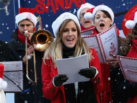 past pictures of singing christmas in sacramento a carol has a past business insider