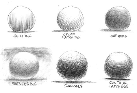 Drawing Techniques by Sketching Techniques Gallery