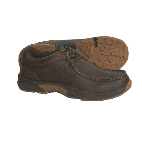 rugged boat shoes rugged shark mackinaw boat shoes for 3425x save 53