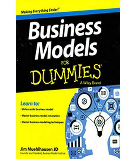 business models for dummies buy business models for