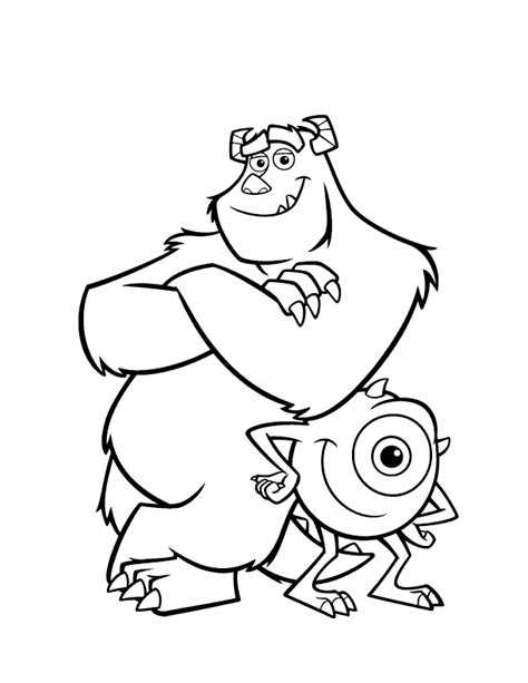 Coloring Page Of Monster | monster coloring pages coloring pages to print