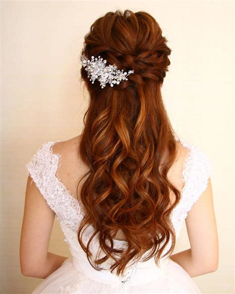 Half Up Half Wedding Hairstyles For Length Hair by 11 Gorgeous Half Up Half Hairstyles