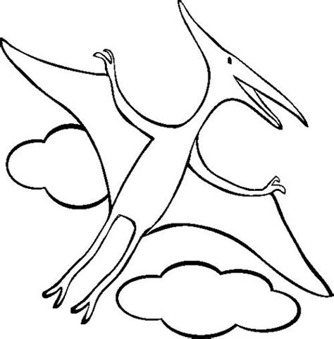 20 Best Dinosaur Images On Pinterest Coloring Dinosaurs Pterodactyl Coloring Pages