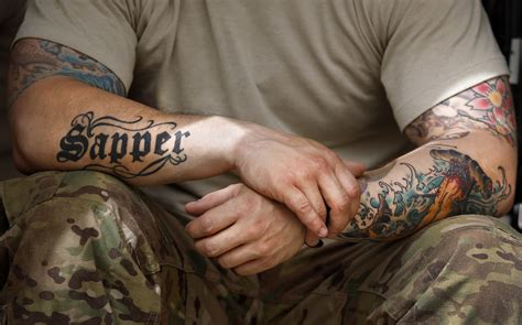 military army tattoos designs ideas and meaning
