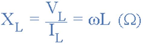 reactance of inductor formula inductive reactance electronics