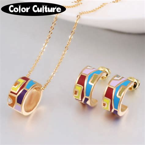 Jewelry Colour Culture aliexpress buy new brand exclusive color costume