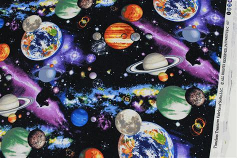 universe pattern fabric timeless treasures the universe