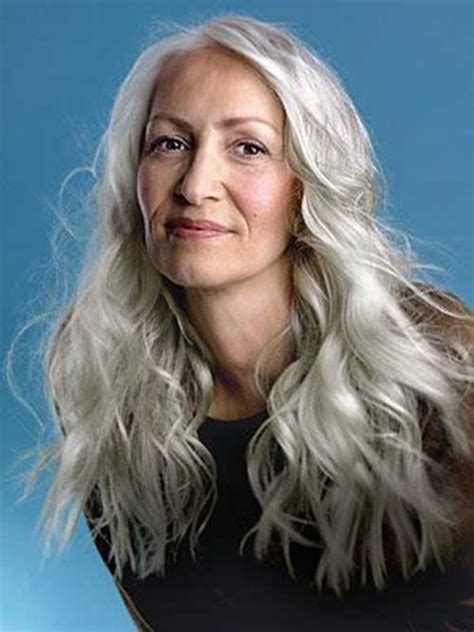 long grey hair styles for women over 50 15 best ladies hairstyles over 50 hairstyles haircuts