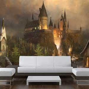 Harry Potter Wall Murals Wall Sticker Mural Harry Potter World Hogwarts Decole