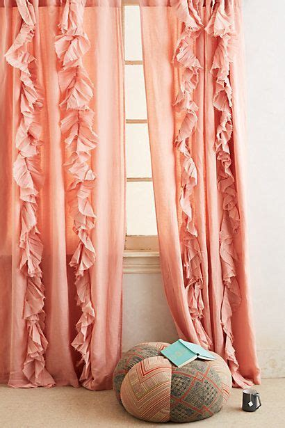 salmon pink curtains best 25 coral curtains ideas on pinterest coral