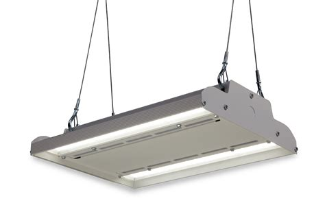 Ge S Albeo Abv1 Series Led High Bay Fixture Leads The Ge Lighting Fixtures