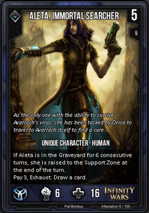 infinity wars aleta aleta immortal searcher infinity wars wiki fandom