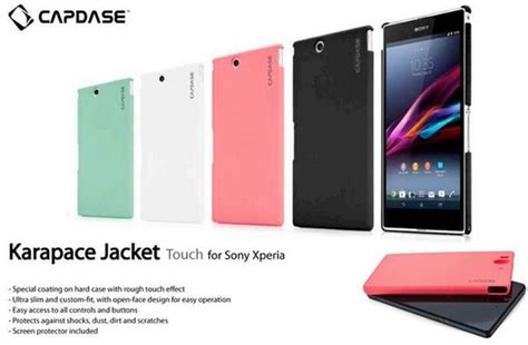Jual Capdase Karapace Touch Cover Sony Xperia Z Ultra Xl39h jual sale capdase karapace touch sony xperia z ultra