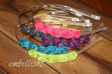Handmade Ideas To Sell - handmade high end headbands for children and adults