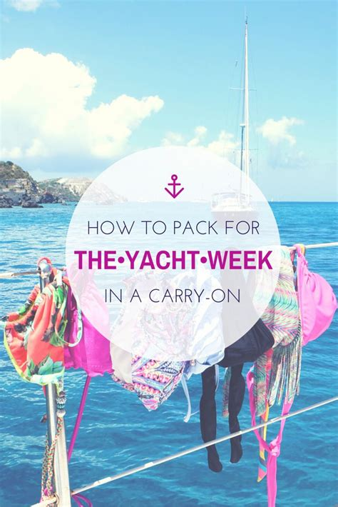 bvi catamaran packing list how to pack for the yacht week in a carry on travel