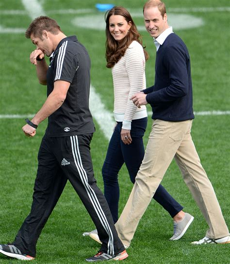 prince william and kate middleton in dunedin new zealand kate middleton and prince william take part in the rippe