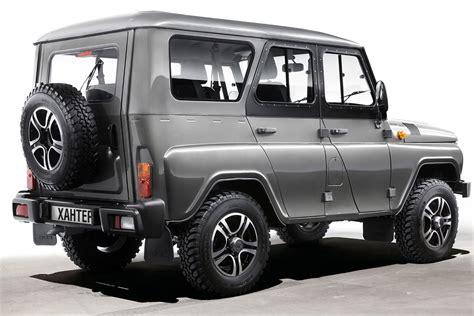 spottedcars  moscow uaz announces  start  uaz hunter production