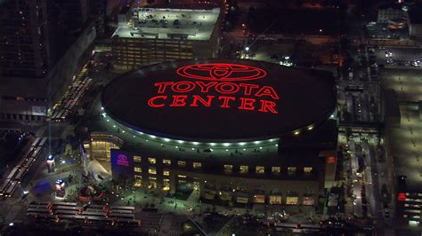 toyota center toyota center front entrance a bird s eye view of houston