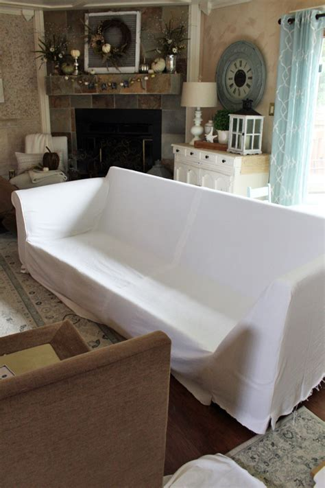 how to make a sectional sofa how to make a sectional slipcover confessions of a