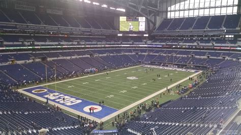 lucas oil stadium sections lucas oil stadium section 449 indianapolis colts