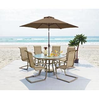 Garden Oasis Long Beach 7pc Patio Dining Set   Sears