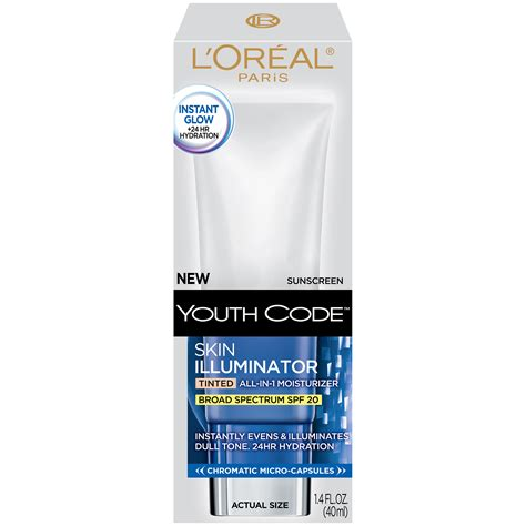 L Tinted by L Oreal Skin Illuminator Tinted Spf 20 Moisturizer Shop