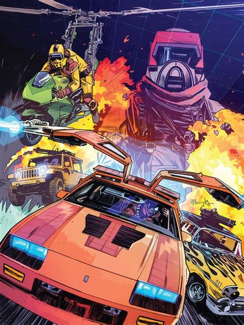 M A K exclusive 80s m a s k gets comic reboot this fall