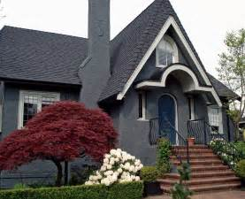 grey house paint exterior gray house with black shutters best ideas with images