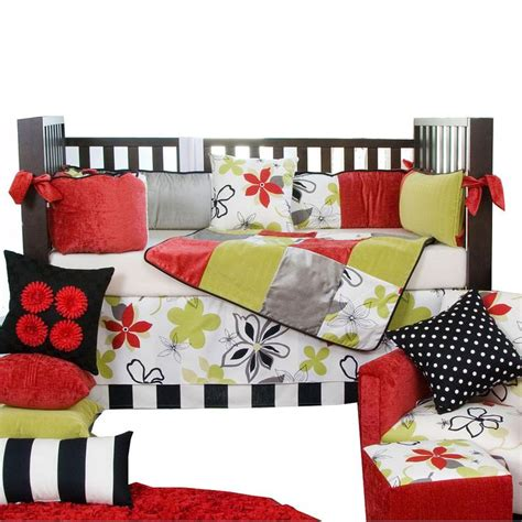 Trendy Baby Bedding Crib Sets East Meets West With The Stylish And Trendy 4pc Crib Bedding Set From Glenna Jean This