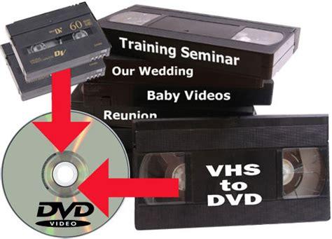 vhs hi8 dv transfer to dvd or file