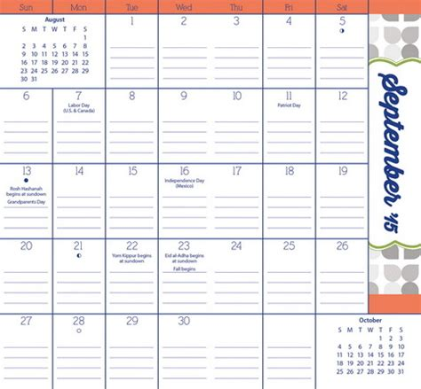 free printable family planner calendar 2015 7 best images of free printable pocket calendar planner