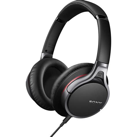 Headset Sony Noise Cancelling sony mdr 10rnc noise canceling headphones mdr10rnc b h photo